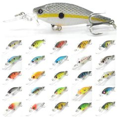 wLure Fishing Lure Hard Bait Medium Diver Tight Wobble Slow Floating 7.2g 8.5cm Over 20 Colors Minnow Crankbait M515 -- Encontrar más información haciendo clic en la VISITA botón