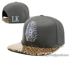 Last Kings Strapback Leopard Gray|only US$8.90,please follow me to pick up couopons.