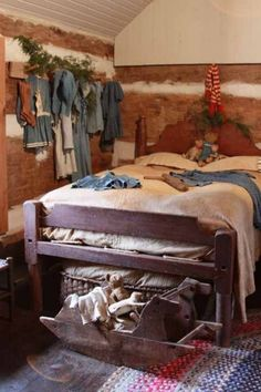 love the bedroom and the seat rocking horse at the bottom of the bed
