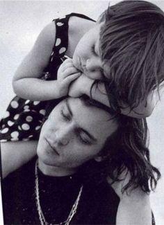 Johnny  daughter love