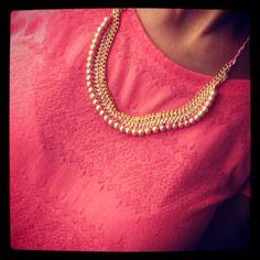 OnedayToday: DIY Statement necklace