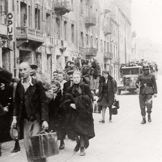In July 1942 the Germans began the mass deportations from the Warsaw ghetto. By the time they ended on September 21, Yom Kippur, some 260,000 inhabitants of the ghetto had been deported to the Treblinka extermination camp