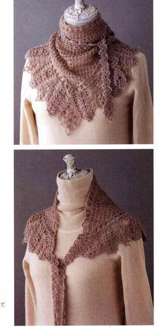Crochet: xale