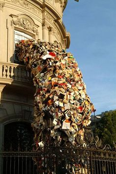 Waterfall Of Books - Image