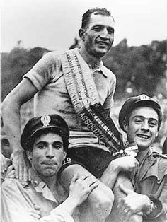 Gino Bartali. This guy is one of my heroes. I can safely say I would not have done what he did. I'm too cowardly.