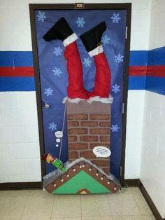 Daddy Cool!: Ιδέες για χριστουγεννιάτικες πόρτες!