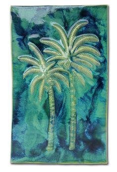 "Wall Art Palm Tree Design 13.5""x21.5"" LP09"