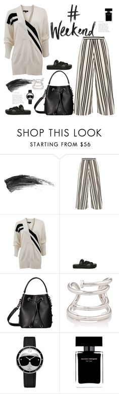 """""""#Weekend💞💞💞💞"""" by naki14 ❤ liked on Polyvore featuring Alice + Olivia, rag & bone, Alexander Wang, MCM, Jennifer Fisher, Fendi, Narciso Rodriguez, outfit, blackandwhite and weekend"""