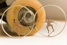 El arte de la joyera Míriam Peñas. Como joyera, soy Miriam Penyas. #MíriamPeñas #MiriamPenyas #SkateART #Joyeria #Artesania #skate #Skateboard #Skateboarding