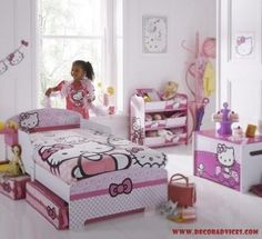 hello kitty room decorations for her  Get Your Child Involved When Decorating His/Her Room