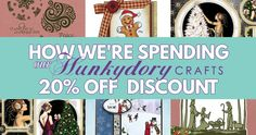 How We're Spending Our Hunkydory Crafts 20% Off Discount