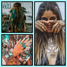 Dreadlocks, Boho, Hair Styles, Collages, Beauty, Hair Plait Styles, Hair Makeup, Bohemian, Hairdos