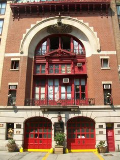 Ladder 33 in NYC; nine heroes who died in 9/11 rushed to the WTC from this fire station.