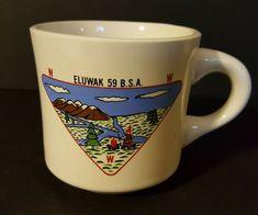 Vintage Eluwak 59 BSA Boy Scout Banquet Coffee mug Coffee Mugs Online, Best Coffee Mugs, Great Coffee, Coffee Cups, Tea Cups, Vintage Boys, Vintage Items, Boy Scout Patches, Coffee Mugs Vintage