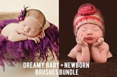 Lightroom 5 Presets | Dreamy Baby Collection and Newborn Brush Bundle