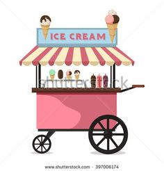 Image result for icecream stall decorations