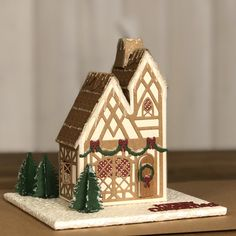 3d Projects, Projects To Try, Dragon House, George & Dragon, Tonic Cards, Tudor House, Putz Houses, Gift Boxes, Christmas Themes