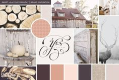 Inspiration board by Salted Ink