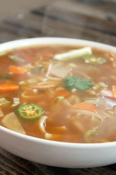 Fat Burning Spicy Thai Noodle Soup