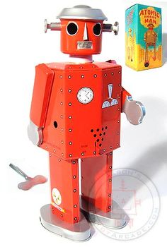 Atomic Robot Man (Red)