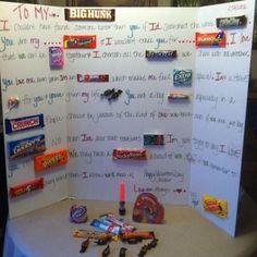 DIY valentine card!! Super cute idea.