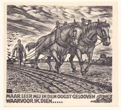 houtgravure, Nico Bulder