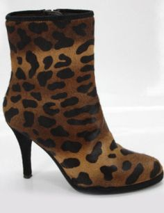 Stuart Weitzman Ankle hair Ankle Booties high heel boots