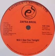 Funk-Disco-Soul-Groove-Rap: Zafra Bros - Will You See Me Tonight