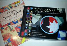 Geo-Gami Art Craft Origami Activity Kit NEW asian paper oriental geometry Lot 2 #SterlingInnovation