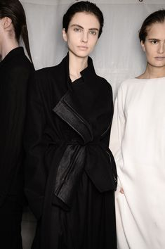 Style - Minimal + Classic: Ann Demeulemeester Fall 2014 - Backstage