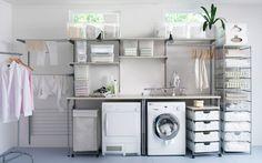 idéias criativas varal lavanderia - Pesquisa Google