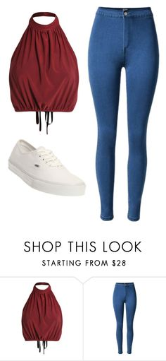 """Untitled #369"" by laurenheartsnarry ❤ liked on Polyvore featuring Vans"