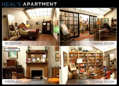 One of my inspirations. From the tv show White Collar. Neal Caffrey's apartment/loft