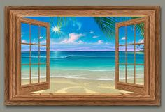 open window painting - Google Search