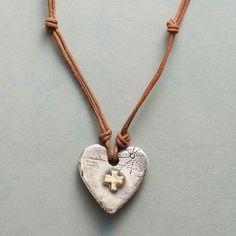 Square Cross Necklace                                              | Robert Redford's Sundance Catalog