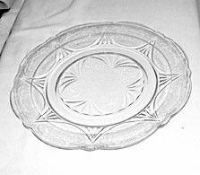 Depression Glass - Hazel Atlas - Royal Lace - Clear Dinner Plate 9 7/8   sc 1 st  Pinterest & Pattern: Sandwich Indiana Depression Glass Manufacturer: Indiana ...