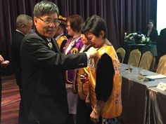Chernuei #LionsClub (Taiwan) inducted new members into their club