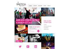 Sketch Production #webdesign #inspiration #UI