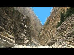 Crete - Samaria Gorge Video.