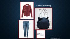 Let's get down to the basics…the Denim Mail Bag, pure & simple.