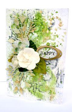 *Blue Fern Studios* Happy St. Patrick's Day card - Scrapbook.com