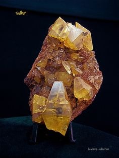 Sulfur Crystals | Flickr: partage de photos!