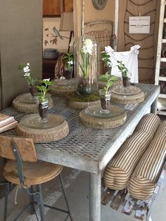 From the talented Judy Hill of Marburger Farm (Round Top Antique Week, TX) fame