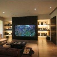 ideas y trucos para decorar la casa complementos decorativos : Un Acuario en Casa, Ideas para Decorar