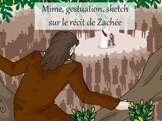 Mime, gestuation, sketch sur Zachée - KT42 portail pour le caté