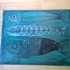 Rustic Fish by PinoGallery on Etsy