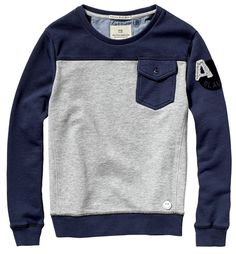 Sweat-shirt color block - Sweat Shirt - Ideas of Sweat Shirt - Sweat-shirt color block Sweat Shirt, Baby Boy Outfits, Kids Outfits, Couture Outfits, Color Block Sweater, Kind Mode, Mens Sweatshirts, Kids Wear, Fashion Kids
