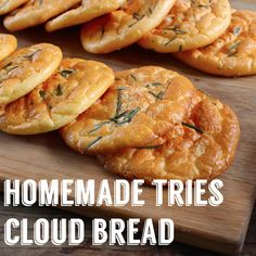 Anyone fancy a cloud bread sarnie?