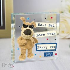 This Personalised Boofle Star Large Crystal Token is the perfect ornament for him on any occasion. The crystal token can be personalised with a message over 3 lines with up to 15 characters per line.Please note that all personalisation is case sen. Birthday Presents For Her, Birthday Gifts For Teens, Best Birthday Gifts, Birthday Party Table Decorations, Birthday Party Tables, Love Qoutes For Boyfriend, Surprise For Girlfriend, Personalized Fathers Day Gifts, Black Gift Boxes