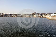 Photo about A view of the city of ancient Pushkar Rajasthan with its ancient lake in front. Image of pilgrimage, stands, foreground - 70657702 Opera House, Westerns, India, Stock Photos, Celestial, City, Photography, Travel, Outdoor